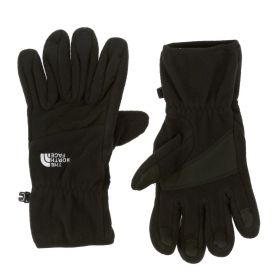 The North Face Womens Denali Gloves in Black (Small)