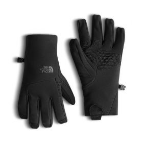 The North Face Womens Apex ETIP Gloves in Black (Extra Small)
