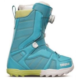 Thirty Two Womens STW Boa Snowboard Boots in blue (38.0)
