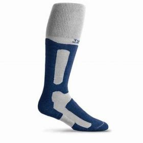 Thorlos Womens / Mens Performance Fit Snowboard Socks in Steele / Patriot (Small)