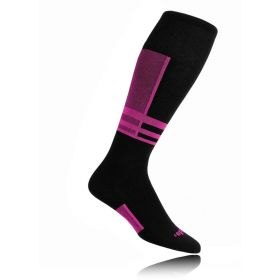 Thorlos Ski Socks in Schuss Pink (Extra Small)