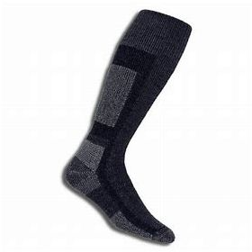 Thorlos Womens / Mens Thick Cusion Snowboard Socks in Black (Small)