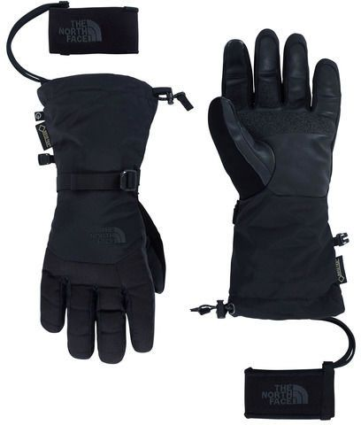 efa4f448a0803 Captains Cabin The North Face Womens / Mens Montana Ski Gloves / Mittens in  Black (Medium)