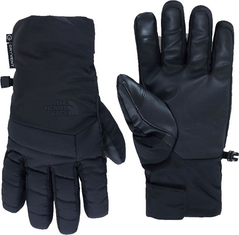 74c370789a044 Captains Cabin The North Face Mens / Womens Guardian ETIP Glove Ski Gloves  / Mittens in Black (Small)